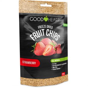 Good Heart Fruit Chips - Strawberry