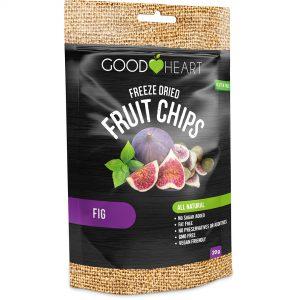 Good Heart Fruit Chips - Fig