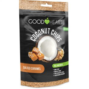 Good Heart Coconut Chips - Caramel