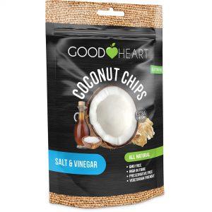 Good Heart Coconut Chips - Salt & Vinegar