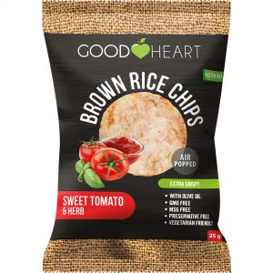 Good Heart Rice Chips - Tomato