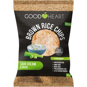 Good Heart Rice Chpis - Sour Cream & Onion
