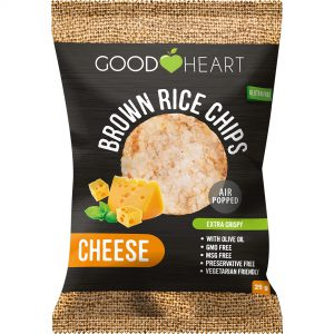 Good Heart Rice Chips - Cheese