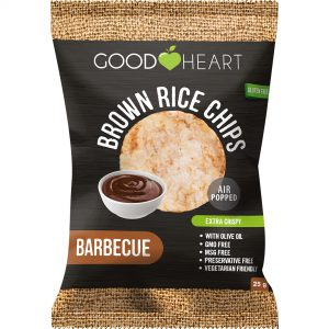 Good Heart Rice Chips - Barbecue