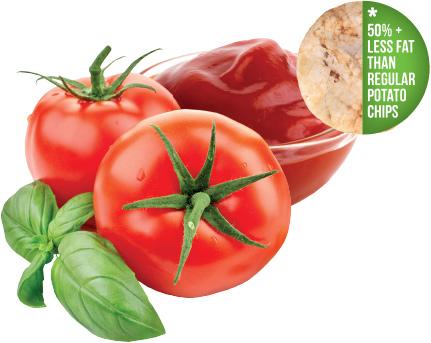 Good Heart Rice Chips - Tomato